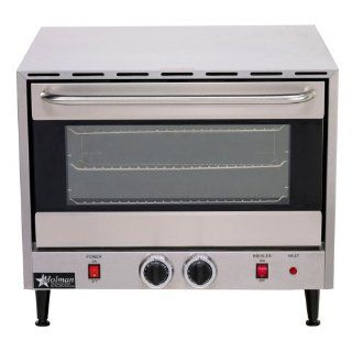 New Star Commercial Electric Convection Oven 3 Rack Single Half Size Countertop Kitchen & Dining