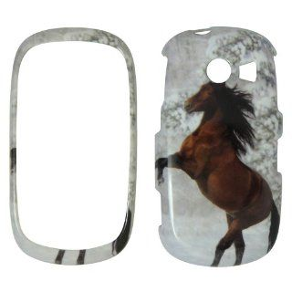 SAMSUNG Flight 2 A927 AT&T   Beautiful Horse Snow and Tree Shinny Gloss Finish Hard Plastic Cover, Case, Easy Snap On, Faceplate. Cell Phones & Accessories
