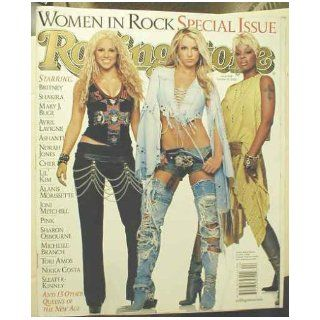 ROLLING STONE MAGAZINE # 908  OCTOBER 31ST, 2002    BRITNEY SHAKIRA MARY J. BLIGE ISSUE ROLLING STONE Books