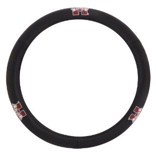 Pilot Automotive SWC 936 Mississippi State Collegiate Leather Steering Wheel Cover Automotive