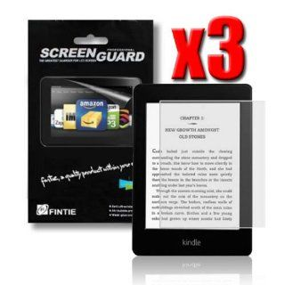 Fintie 3 Pack Ultra Clear Screen Protector With Retail Package for  Kindle Paperwhite Tablet (will only fit Kindle Paperwhite) Kindle Store