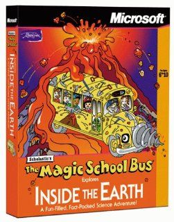 Magic School Bus Explores Inside the Earth [Old Version] Software
