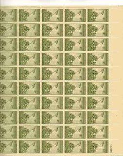Iwo Jima Sheet of 50 x 3 Cent US Postage Stamps NEW Scot 929