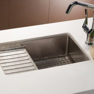 "Native Trails GR934 SS Stainless Steel Cantina 12 1/2"" Square Bottom Grid Sink Rack   For Use with Cantina Series   Plumbing Equipment"
