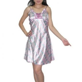 SILK COUTURE Womens Sexy Gorgeous Sleepwear Dress S M Multicolor Nightgowns