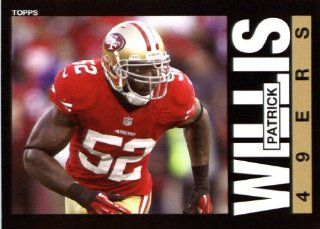 2013 Topps Archives NFL Football Trading Cards # 61 Patrick Willis San Francisco 49ers Sports Collectibles
