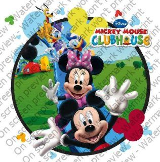 1/4 Sheet ~ Mickey Mouse Clubhouse Fun ~ Edible Image Cake/Cupcake Topper Grocery & Gourmet Food