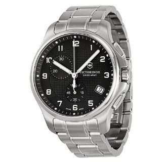 Victorinox Officers Swiss Army Quartz Black Dial Men's Watch   (241592) Victorinox Watches