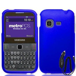 SAMSUNG FREEFORM M T189N BLUE TPU RUBBER SKIN COVER SOFT GEL CASE + FREE CAR CHARGER from [ACCESSORY ARENA] Cell Phones & Accessories