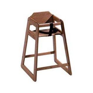 Old Dominion S 1 Wooden High Chair Solid Oak, Natural Oak Finish  Childrens Highchairs  Baby