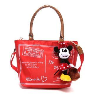 Samantha Thavasa Disney Collection Minnie Mouse Toto Bag (Red) Home And Garden Products Kitchen & Dining