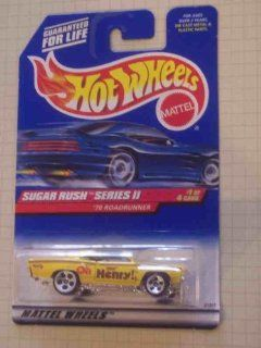 Sugar Rush 2 Series #1 1970 Roadrunner #969 Collectible Collector Car Mattel Hot Wheels Toys & Games