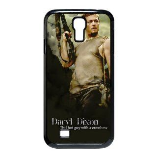 Custom Daryl Dixon Cover Case for Samsung Galaxy S4 I9500 S4 992 Cell Phones & Accessories
