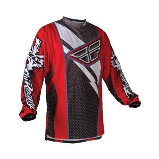 Fly Racing F 16 Men's Off Road/Dirt Bike Motorcycle Jersey   Red/Black / Small Automotive