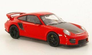 2010 PORSCHE 911 (997 II) GT2 RS in RED W/ BLACK WHEELS Minichamps Toys & Games