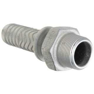 "Dixon Boss MS16 Iron Hose Fitting, Stem, 1 1/4"" NPT Male x 3/8"" Hose ID Barbed"
