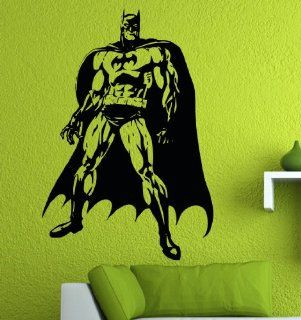"Batman Wall / Window Vinyl Decal Sticker / 32"" X 22""   Automotive Decals"
