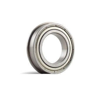 SFR144 ZZ, 1/8 x 1/4 x 7/64F inch, Stainless Steel Flanged Radial Bearing Ball Bearings