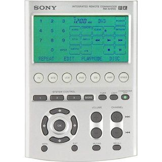 Sony RM AV3100 18 Device Fully Editable Touch Screen Universal Remote Control (Discontinued by Manufacturer) Electronics