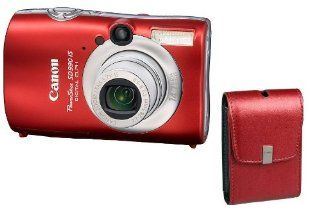 "Canon Powershot SD990IS 14.7MP Digital Camera with 3.7x Optical Image Stabilized Zoom Canon Limited Edition Kit (Red)"" ""  Camera & Photo"