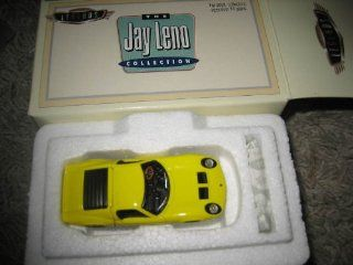 Hot Wheels   Legends   The Jay Leno Collection   Lamborghini Miura Car Replica   Yellow Body Color Toys & Games
