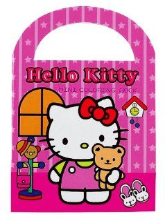 Hello Kitty Mini Coloring Book Pink Toys & Games