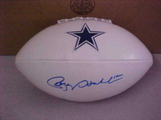 Roger Staubach Hand Signed Autographed Dallas Cowboys Full Size NFL Football
