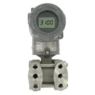 Mercoid� Process Differential Pressure Transmitter, 3100D 4 FM 1 1 LCD, Hart Communications, Explosion Proof, 0 750 In W.C.