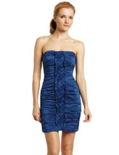 BCBGMAXAZRIA Women's Mariko Dress, Cobalt, 12 Bcbg Dresses