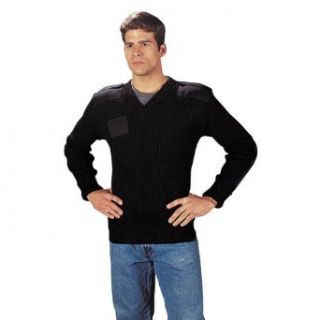 Rothco Men's Wool V Neck Sweater   Clothing