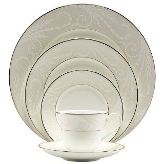 Nikko Pearl Ariel #12406 Four 5 Pc Place Settings Dinnerware Sets Kitchen & Dining