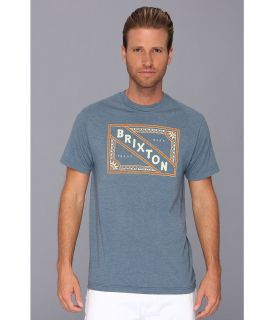 Brixton Matchbox Premium Tee Mens T Shirt (Blue)