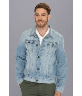 True Religion Danny Slim Fit Trucker Jacket in New Beat Mens Coat (Blue)