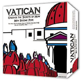 Vatican The Board Game   Unlock the Secrets of How Men Become Pope Toys & Games