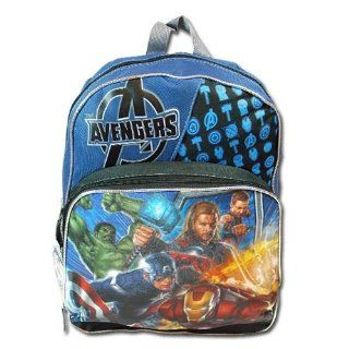 "Birthday Christmas Gift   Super Heroes Avengers Large Backpack and Tumbler Set, Backpack Size Approximately 16"" Toys & Games"