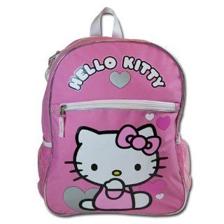 "Birthday Christmas Gift   Sanrio Hello Kitty Large Backpack and Sanrio 4 Card Games Set, Backpack Size Approximately 16"" Toys & Games"