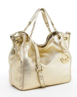 MICHAEL Michael Kors Jet Set Medium Tote, Pale Gold