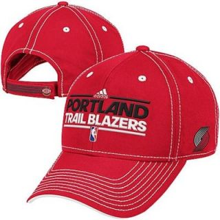 adidas Portland Trail Blazers Authentic Practice Graphic Adjustable Hat