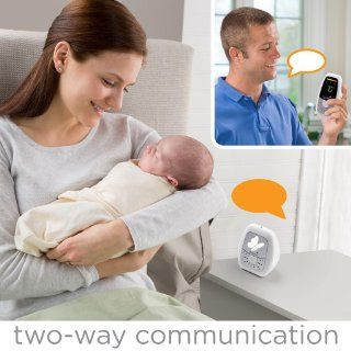 Summer Infant Baby Wave Deluxe Digital Audio Monitor  Baby Monitor Two Way  Baby