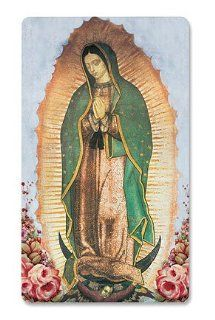 3 d Our Lady of Guadalupe Holy Card  Other Products