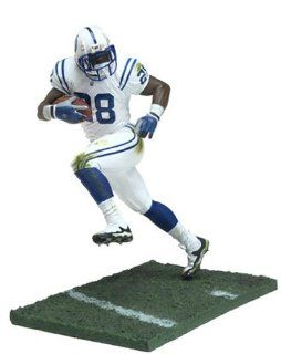 Marshall Faulk #29 Indianapolis Colts White Uniform Chase Alternate Variant McFarlane NFL Series 7 Action Figure Toys & Games
