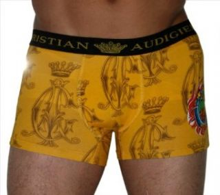 CHRISTIAN AUDIGIER Ed Hardy Mens Boxer Brief Lucky Tattoo Print Size M at  Men�s Clothing store
