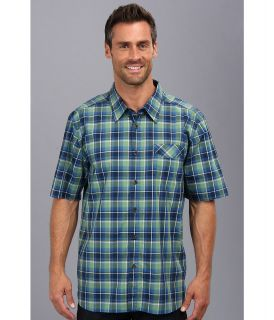 Quiksilver Waterman Gulf Coast S/S Woven Shirt Mens Short Sleeve Button Up (Black)