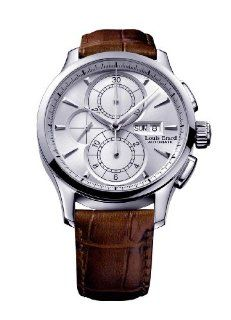 Louis Erard Men's 78220AA01.BDC50 1931 Automatic Brown Leather Chronograph Date Watch at  Men's Watch store.