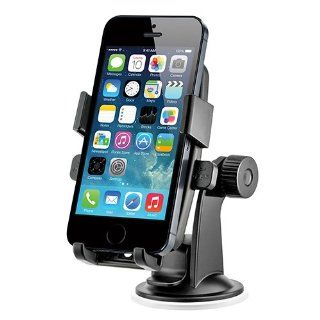iOttie HLCRIO102 One Touch Windshield Dashboard Universal Car Mount Holder for iPhone 4S/5/5S/5C, Galaxy S4/S3/S2, HTC One   Retail Packaging   Black Cell Phones & Accessories