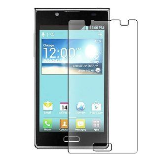 eForCity Reusable Anti Glare Screen Protector Compatible with LG Venice US730 Cell Phones & Accessories