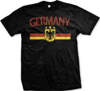 Germany Eagle Crest International Soccer T shirt, German Soccer Mens T shirt Clothing