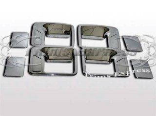 Chrome Effect AF10180 1999 2013 Ford F 250/F 350/SuperDuty 4 Door Chrome Handle Covers No Passenger Side Keyhole Automotive