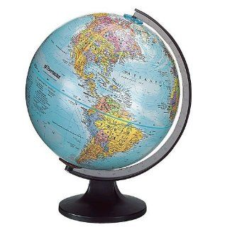 Edu Science World Globe 12 inch Diameter Globemaster