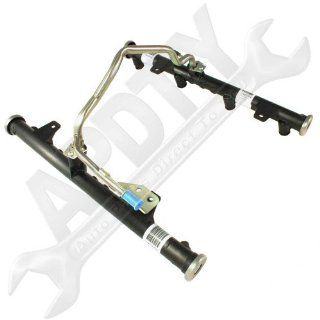 GM 17206319 Fuel Injector Rail Assembly For 2003 2007 Chevy / GMC 4.8L / 5.3L / 6.0L Gasoline Engines (Except Flex Fuel) (Both Rails Included) (Replaces GM 9563196075, 5165746076) Automotive